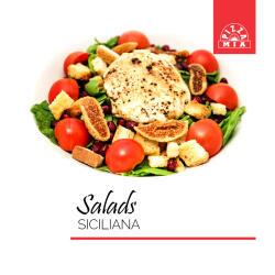 Pizza Mia Siciliana Salad